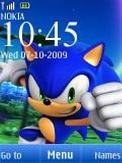 Sonic Time S40 Nokia  Mobile Theme