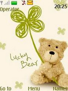 Lucky Bear Mobile Theme
