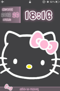 LS Hello Kitty IPhone Theme Mobile Theme