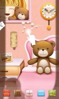 Teddy Sleep For Android Theme Mobile Theme
