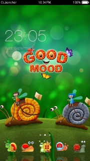 Good Mood For Android Theme Mobile Theme