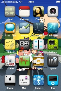 Ture Friends IPhone Theme Mobile Theme