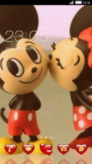 Mickey Disney Love Android Theme Mobile Theme