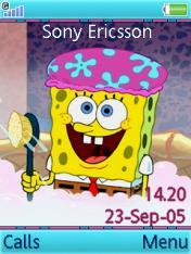 Sponge Bob Theme Mobile Theme