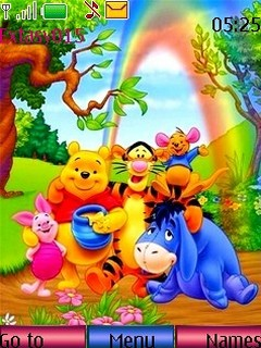 Winnie Mobile Theme