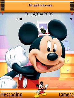 Mickey Mouse Mobile Theme