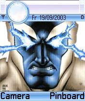 Blue Superman Theme Mobile Theme