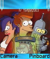 Futurama Theme Mobile Theme