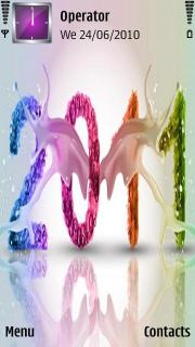 2011 Nokia Theme Mobile Theme
