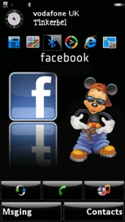 Facebook Mobile Theme