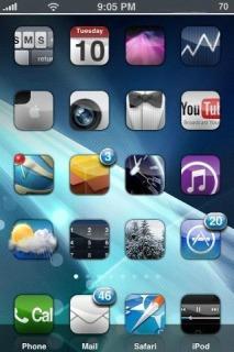IPear Mobile Theme