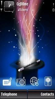 Blue Magic Mobile Theme