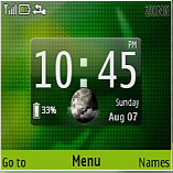 Green Desire Mobile Theme