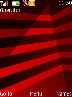Red Black Mobile Theme