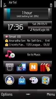 Black V2 Mobile Theme
