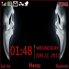 Scream4 Mobile Theme