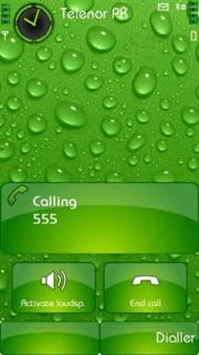 Dew Drops Symbain Theme Mobile Theme