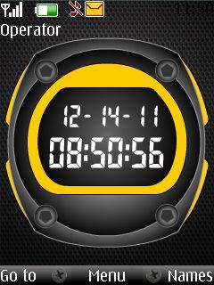 Clock Nokia Theme Mobile Theme