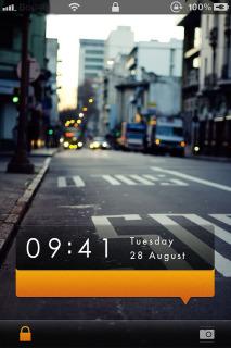 Danael M9 Lockscreen Mobile Theme