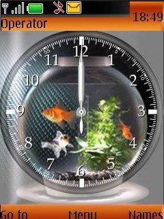 Glod Fish Mobile Theme