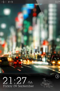Ls City Road Mobile Theme