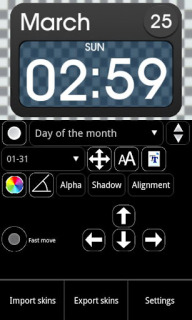 Ultimate Simple Clock Android Theme Mobile Theme