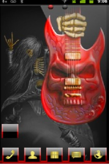 Ghost Guitar For Android Theme Mobile Theme
