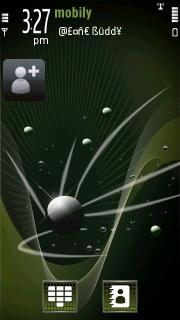Amazing Green Mind S60v5 Theme Mobile Theme