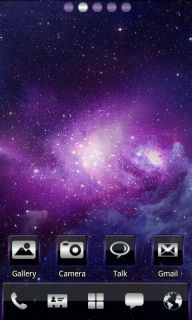 Space Colors Shine For Android Theme Mobile Theme