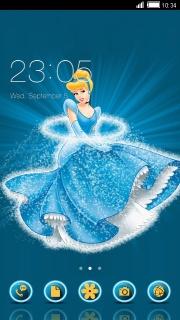 Cinderella Free Android Theme Mobile Theme