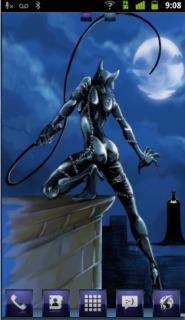 Catwoman Vs Batman Android Theme Mobile Theme