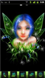 Magic Princeses Girl Android Theme Mobile Theme