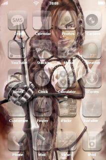 Amazzone Beauty IPhone Theme Mobile Theme