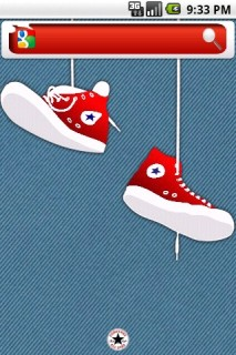 Converse Red Android Theme Mobile Theme
