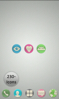 Candy Love Sweet Android Theme Mobile Theme