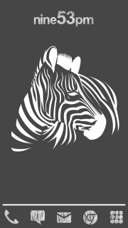 Zebra Sketch Android Theme Mobile Theme