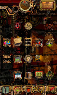 Machine Ghost Steampunk Android Theme Mobile Theme