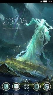 Magic Women Beauty Android Theme Mobile Theme