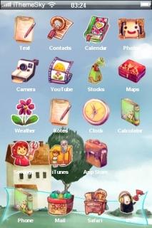 House Dream Nature IPhone Theme Mobile Theme