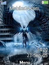 Armageddon Angel Mobile Theme