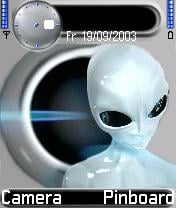 Alien Theme Mobile Theme