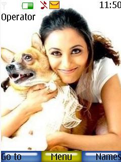 Rani Mukherjee Mobile Theme