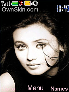 Rani Mukherjee Mobile Theme