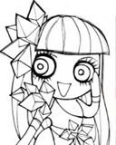Lady Gaga Cartoon 2 Mobile Theme