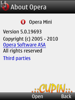 Opera Mini 5 Handler Ui 150 Mobile Theme