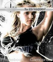 Jessica Alba Mobile Theme