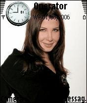 Nancy Agram Mobile Theme