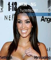 Kim Kardashian Mobile Theme