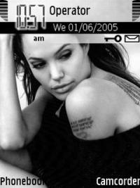Angelina Mobile Theme