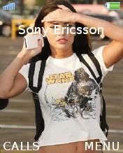 Megan Fox Mobile Theme